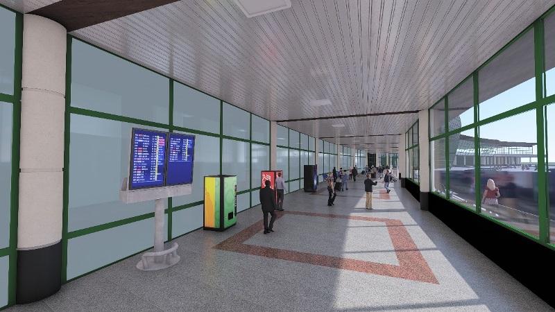 Два терминала аэропорта Нур-Султана соединит удобная переходная галерея