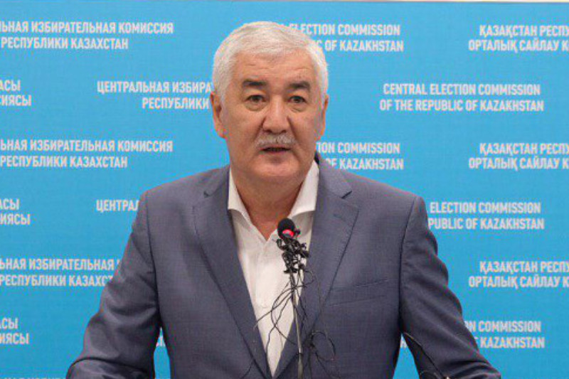 Presidential candidate Amirzhan Kossanov comments on exit poll results