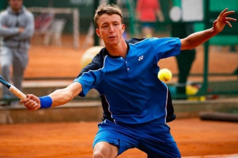 Kazakhstani tennis player reaches ITF Turkey doubles final