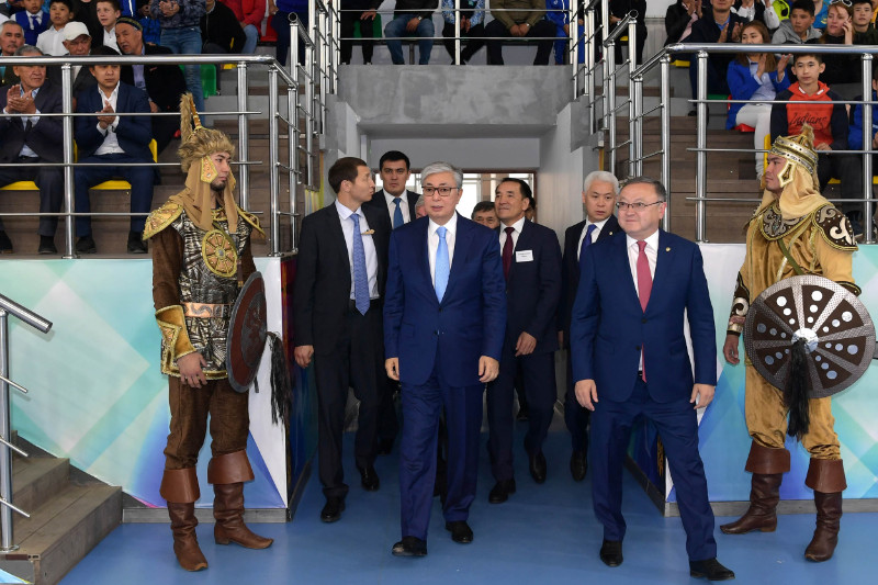 托卡耶夫总统:国家将为体育事业发展创造良好条件