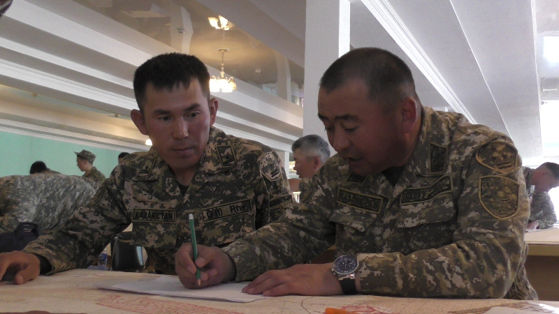 В региональном командовании «Восток» завершился учебно-методический сбор