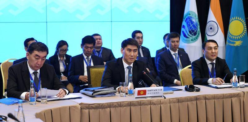 阿塔姆库洛夫出席上合组织外长理事会会议