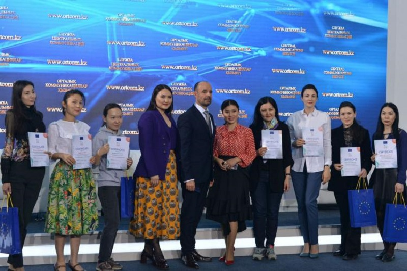 EU announced results of the media contest for Kazakh journalists