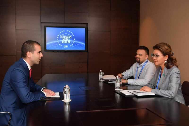 Дарига Назарбаева провела ряд встреч на полях Евразийского медиа форума