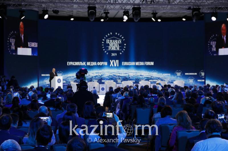 Kazakh President welcomes XVI Eurasian Media Forum participants