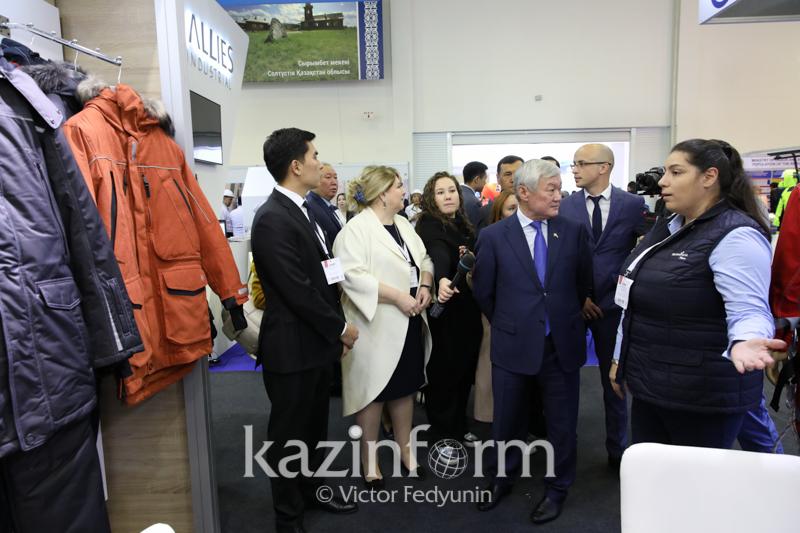 哈萨克斯坦2019劳保展览会在首都开幕