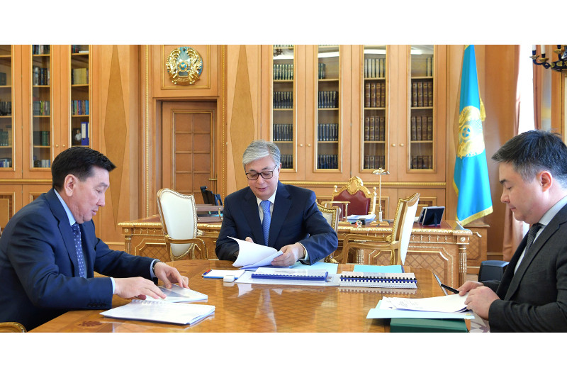 President received KazMunayGas CEO Alik Aidarbayev