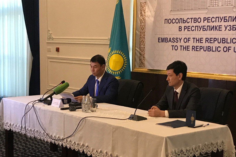 Kazakh Ambassador to Uzbekistan held briefing on presidential elections