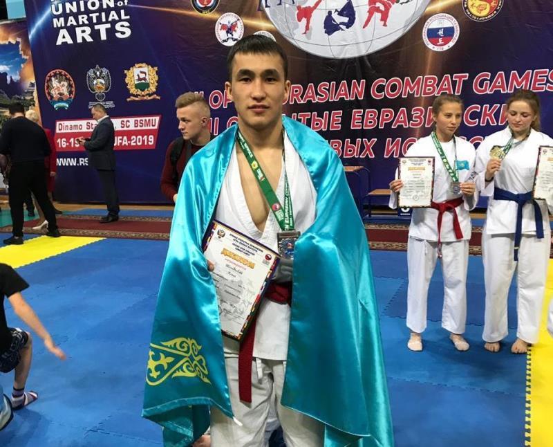Военнослужащие завоевали пять медалей на Евразийских играх в Уфе