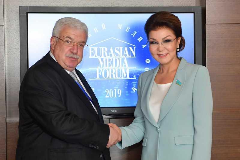Dariga Nazarbayeva, Mikhail Gusman had talks