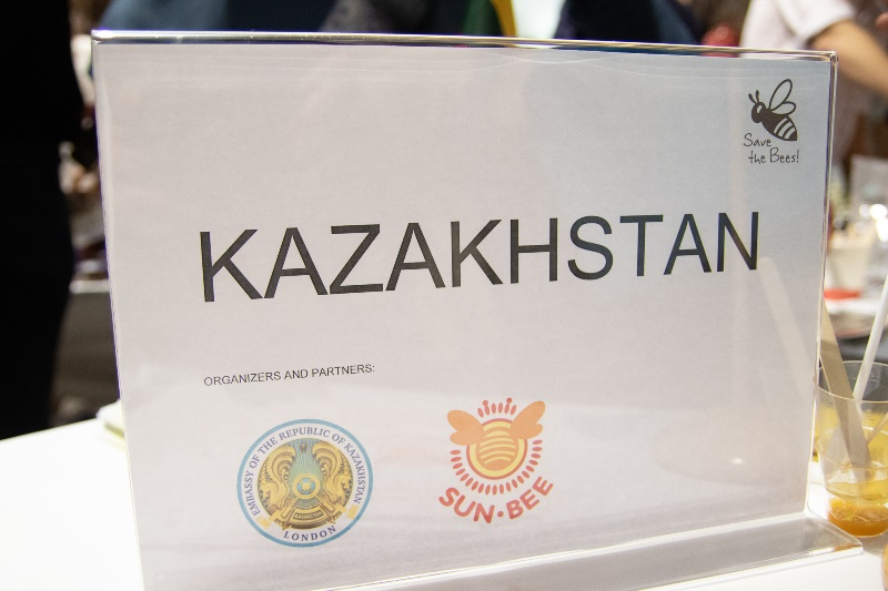 Honey from Kazakhstan presented at London international exhibition
