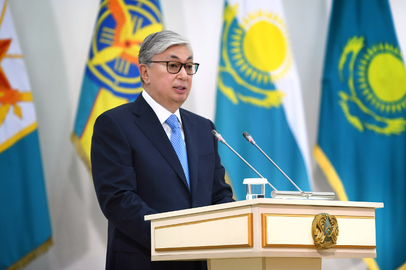 Kazakh President attends extended sitting of Defense Ministry Board