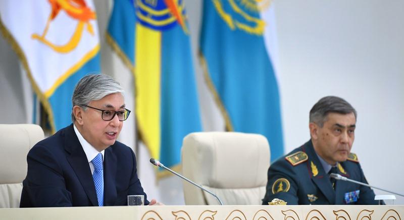 Қасым-Жомарт Тоқаев Қорғаныс министрлігі алқасының кеңейтілген отырысына қатысты
