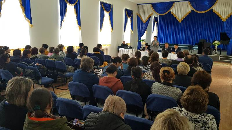 Presidential candidate Yespayeva meets with Akmola region residents