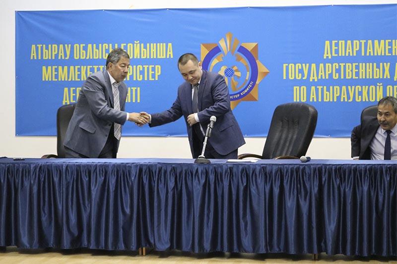 Курмангали Тасмагамбетов назначен замглавы ДГД по Атырауской области