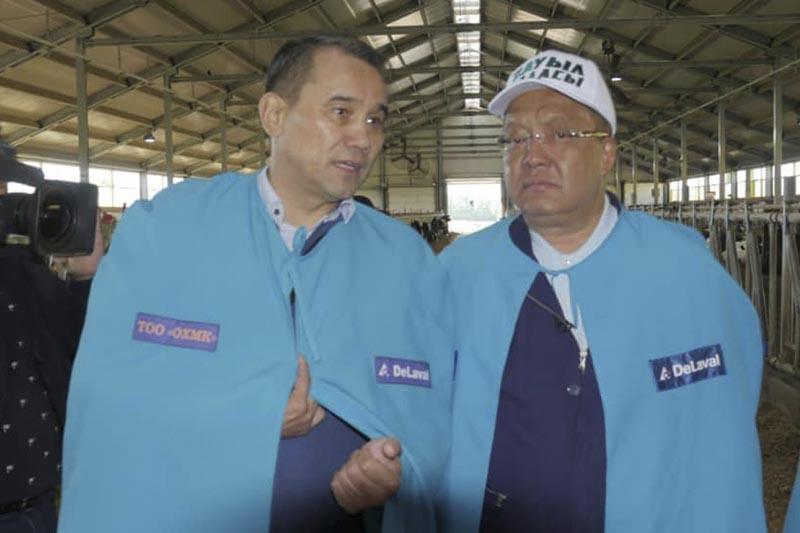 Толеутай Рахимбеков презентовал свою программу фермерам ВКО