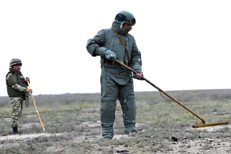В Вооруженных силах проводится плановая очистка военных полигонов