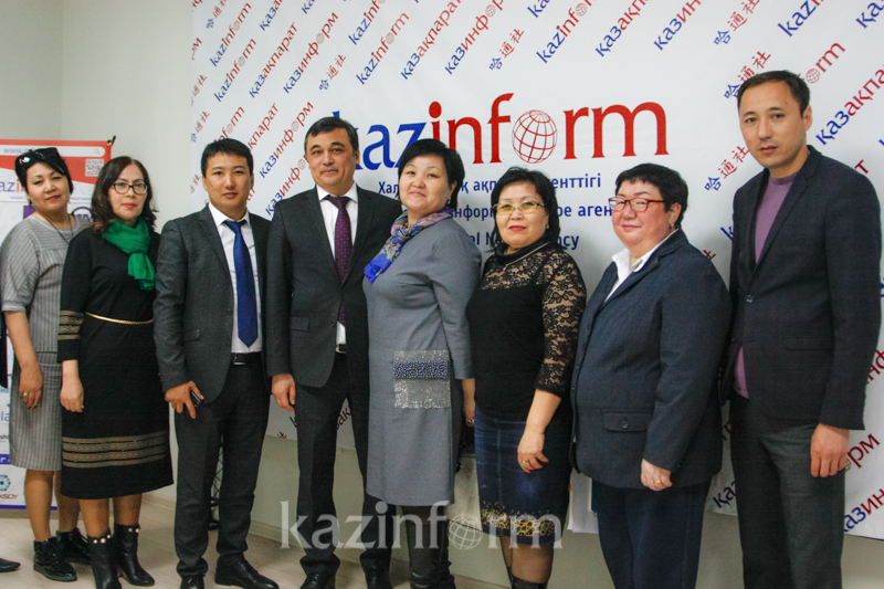 Kazinform Agency, Atyrau-Akparat Media Holding sign memo of coop