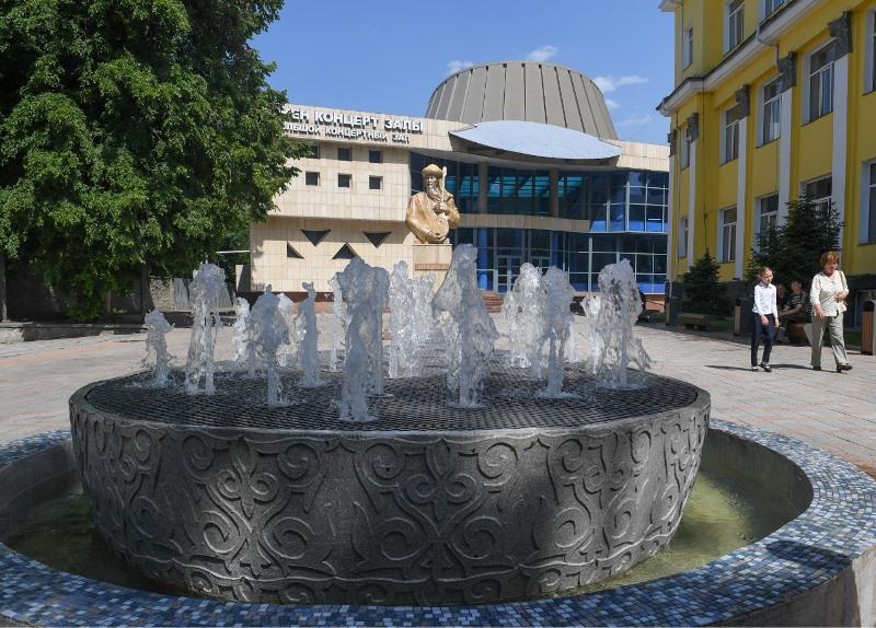 Более 20 фонтанов построили и восстановили в Алматы