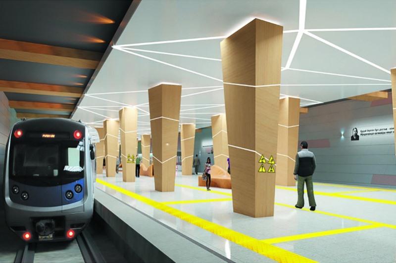 Новые станции метро в Алматы будут приспособлены для маломобильных граждан