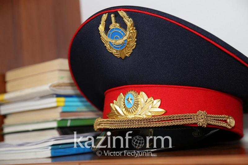 Вооруженного разбойника обезвредил полицейский в Алматы