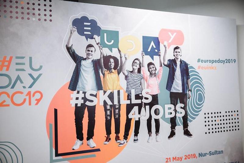 #Skills4Jobs: EU MS Ambassadors share leadership experience with Kazakh youth