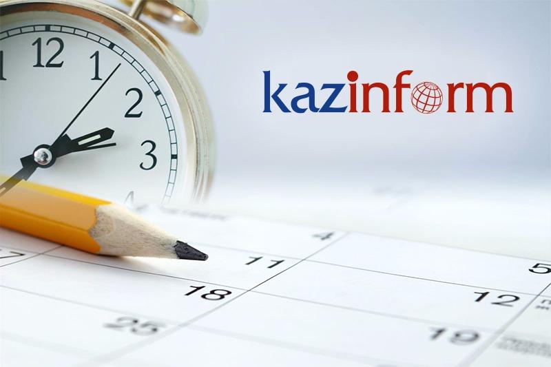 May 25. Kazinform's timeline of major events