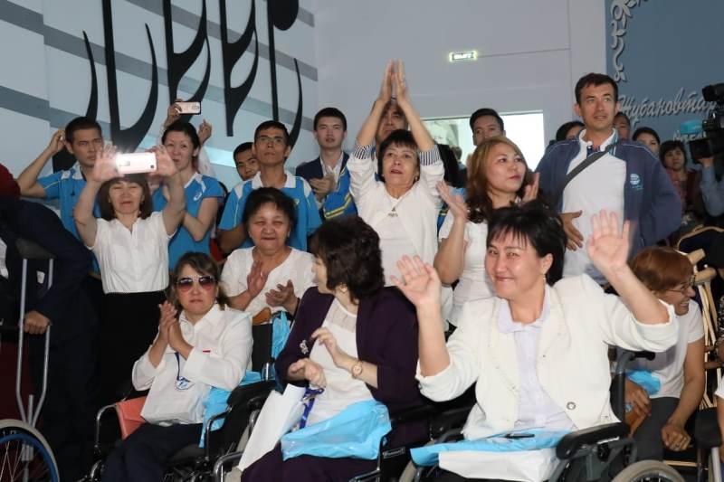 Акция по поддержке лиц с ограниченными возможностями прошла в Актобе