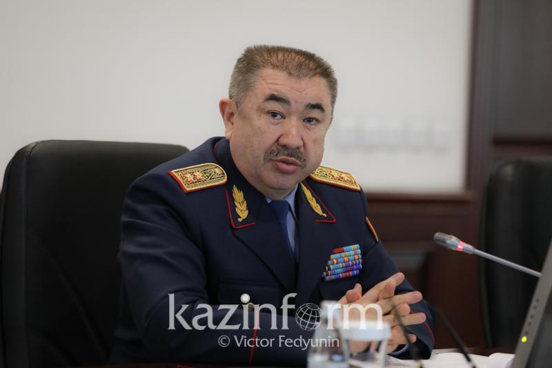 Министр Тургумбаев рассказал, как реформа МВД повлияет на обучение полицейских