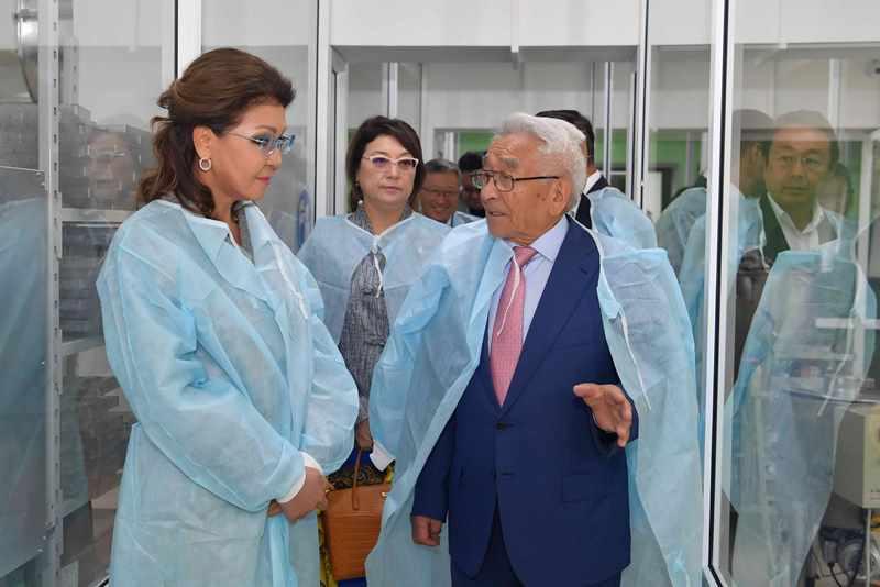 Дарига Назарбаева отметила качество отечественного кобыльего молока