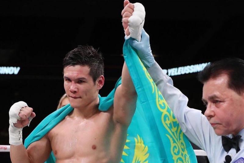 Данияр Елеусинов выиграл седьмой бой в профи в США