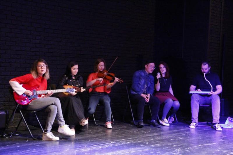 Поэзия, музыка и хореография: творческая группа из США провела мастер-классы в Алматы