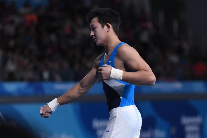 Аян Молдағалиев спорттық гимнастикадан әлем кубогында бестікке енді