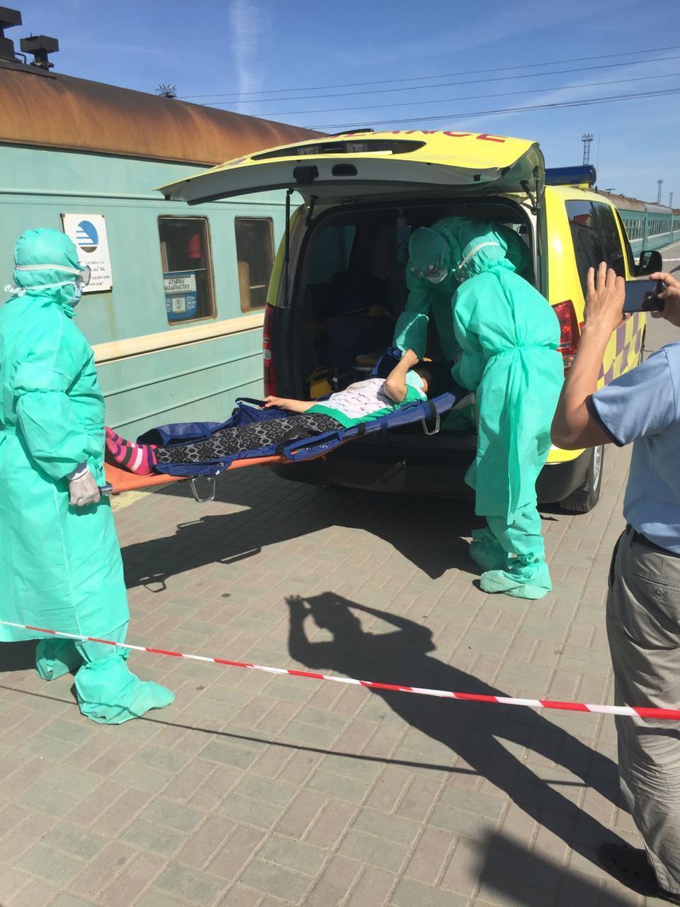 Холера в поезде: в Атырау отработали экстренную эвакуацию