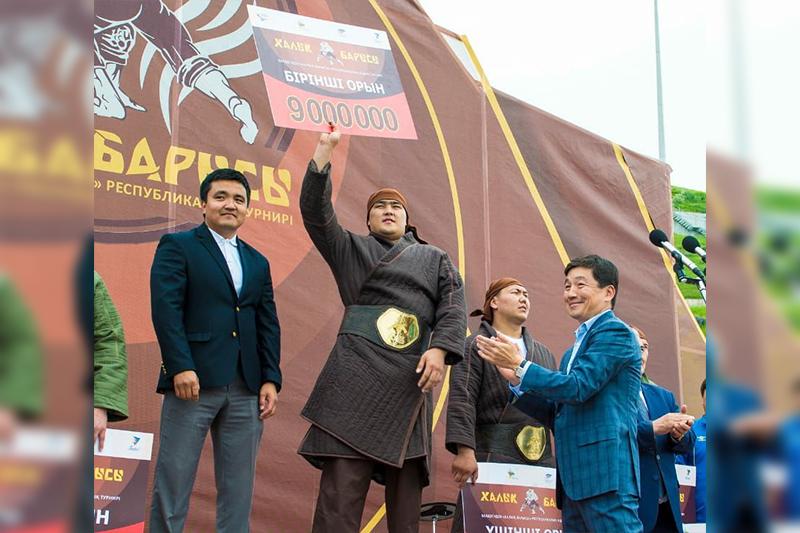 Дәурен Нұралинов «Халық Барысы» атанды