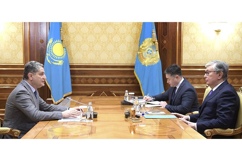 Президент РК встретился с председателем коллегии ЕЭК