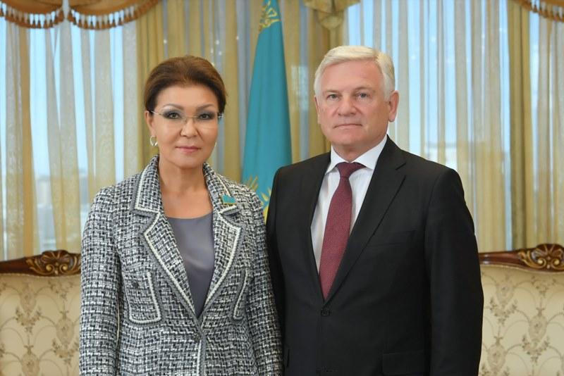 Dariga Nazarbayeva receives Belarusian Ambassador