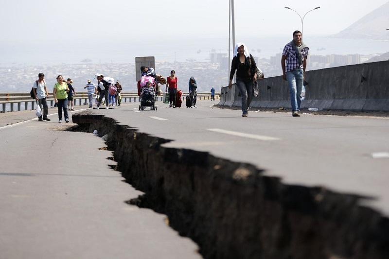 秘鲁发生8级地震