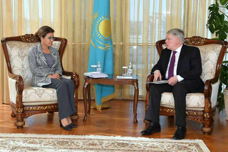 Kazakh Senate Speaker, Russian Ambassador meet in Nur-Sultan