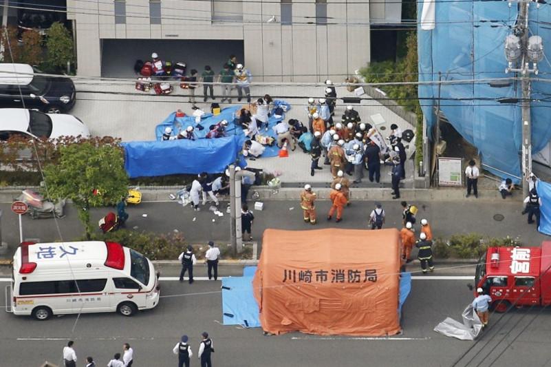 日本川崎市发生持刀袭击案  已致2人死亡