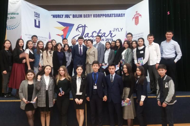 Дания Еспаева встретилась со студентами столичного колледжа