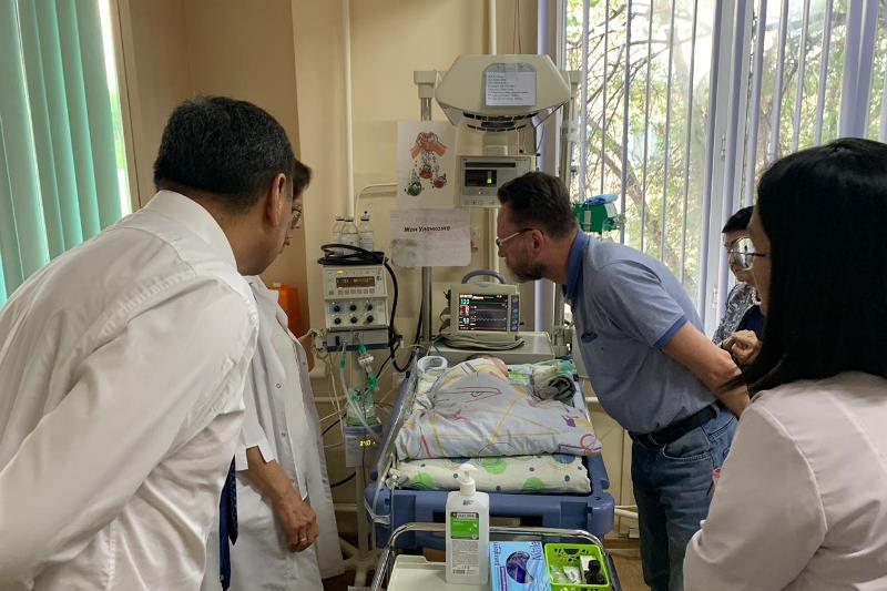 Казахстанские неонатологи узнают о новых методах борьбы с госпитальной инфекцией