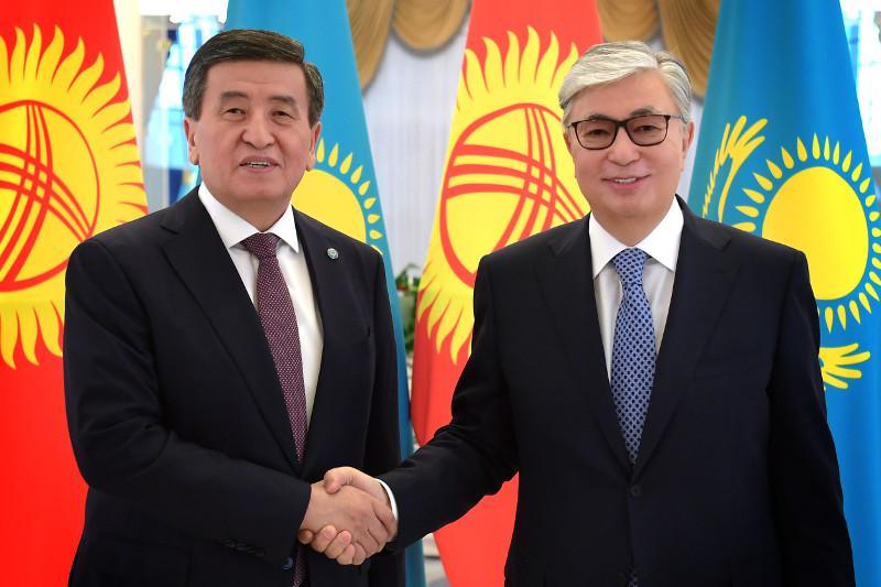 哈吉两国元首在首都举行会晤