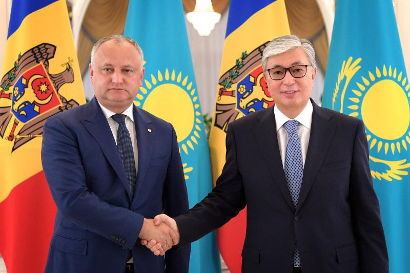 Қасым-Жомарт Тоқаев: Молдовамен ынтымақтастықты нығайтуға ниеттіміз