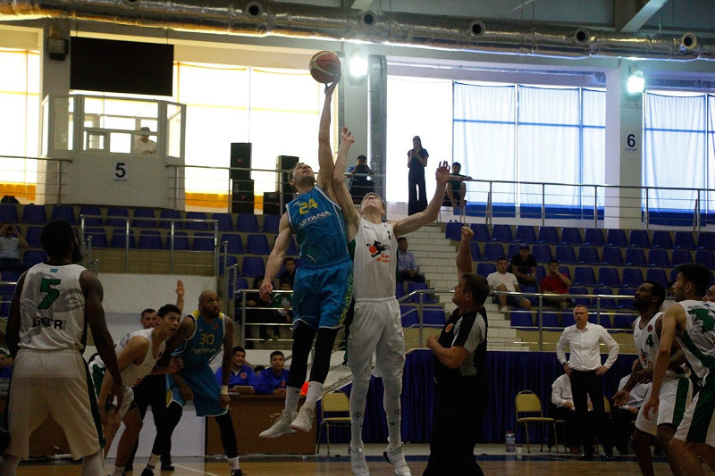 Баскетбольная «Астана» стала чемпионом Национальной лиги