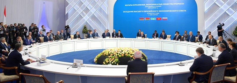 18 documents inked at Supreme Eurasian Economic Council Summit in Nur-Sultan