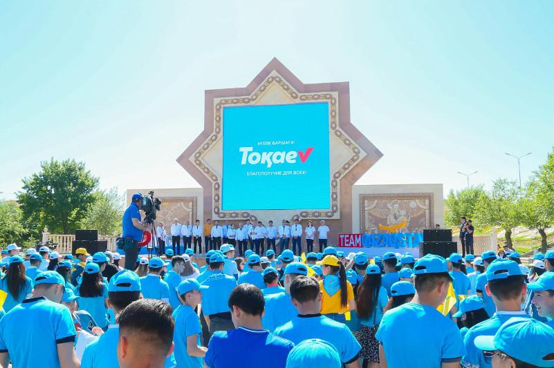 Штаб Касым-Жомарта Токаева встретился со студентами в Таразе