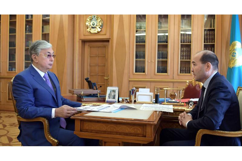 President received Prosecutor General Gizat Nurdauletov