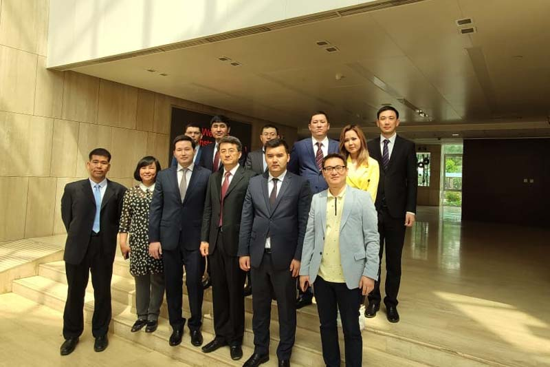 Kazcosmos delegation visited space infrastructure facilities of China