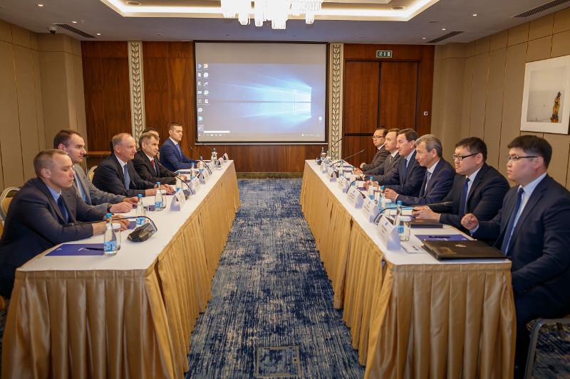 哈俄两国国家安全机构间举行例行会议